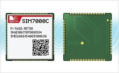 SIMCom推出首款LTE CAT-M1/NB-IoT模块SIM7000C